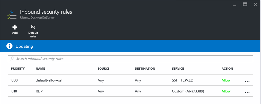 Deploying Ubuntu Mate Desktop as a developer environment in a Azure